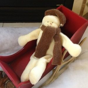 WOOF & POOF - Sitting Snowman - Great Condition